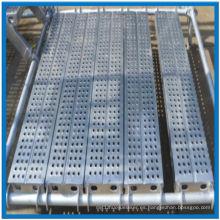 Decking del andamio de aluminio de alta calidad con Hang Hook Made in China