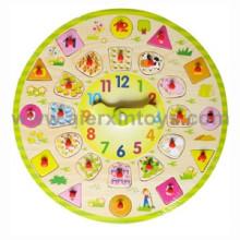 Wooden Clocks Toy (81369)
