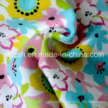 Soft Printing Jersey Knit Fabric for Children Clothes Home Textile