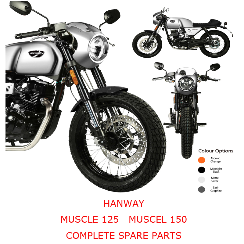 HANWAY MUSCLE 125 MUSCLE 150