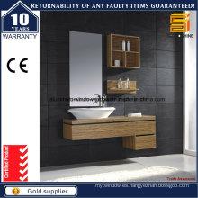 Combinación moderna de la vanidad del cuarto de baño del MDF para la pared