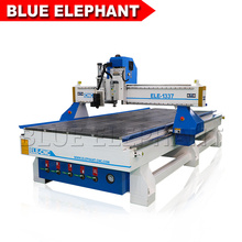 1337 CNC Oscillating Knife Cutting Machine Large CNC Router Price 3 Axis 3kw Air Cooling Spindle