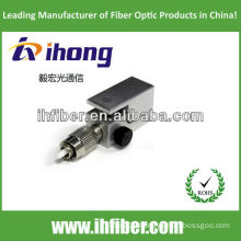FC PC bare fiber adapter square housing