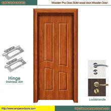 Puerta interior del MDF de la puerta del sitio de MDF puerta barata del PVC
