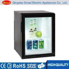 прозрачная дверь энергетический напиток дисплей мини-бар холодильник