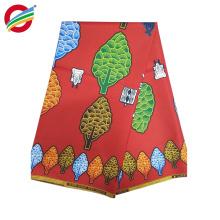 Tela tejida de impresión de cera africana resistente al encogimiento utilizado para la venta