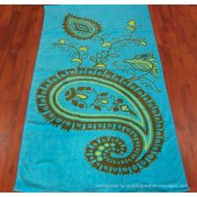 (BC-TB1005) Toalha de banho turca colorida 100% algodão de alta venda