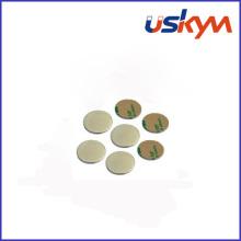 Ímãs de Neodímio de disco com adesivo (D-005)