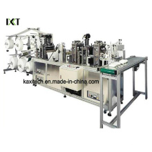 Non Woven Machine for Disposable Face Mask Making Kxt-FKM04 (attached CD)