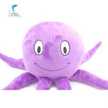 Lila Oktopus Plüsch Plüschtier Spielzeug unterschiedlicher Größe