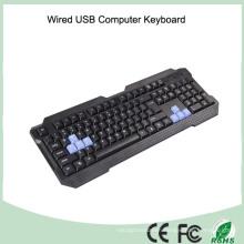 Cool Design Laser Printing Waterproof USB Keyboard (KB-1688-BL)