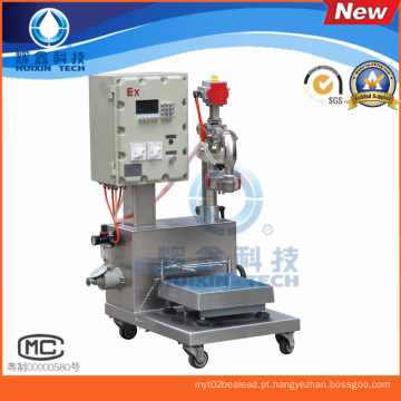 Máquina de enchimento de pesagem química-líquido