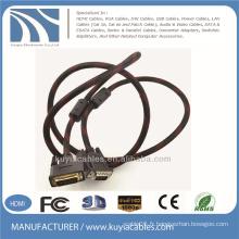 5ft 24 + 1DVI Câble mâle vers mâle VGA pour DVD LCD HDTV PC