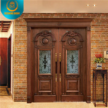 2015 venta caliente exterior puerta de madera
