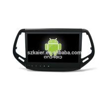 ¡Cuatro nucleos! DVD del coche de Android 6.0 para Compass con pantalla táctil capacitiva de 10.1 pulgadas / GPS / Mirror Link / DVR / TPMS / OBD2 / WIFI / 4G