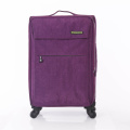 trolley koffer rolbagage zachte nylon bagage