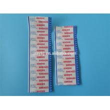Auxiliar médico de banda adesiva, Tiras de tecido de algodão
