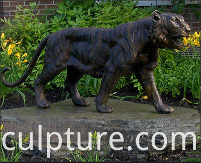 Bronze Animals WildlifeTiger