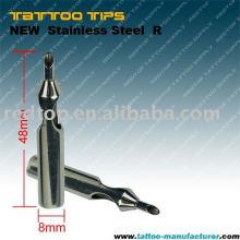 Nouvelle pointe de tatouage stérile en acier inoxydable (R)
