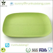 eco-friendly bamboo fiber tray