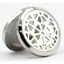 30mm Rd Magnet Style en acier inoxydable Perfume Diffuser Locket Pendant