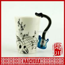 guitar music mug cup