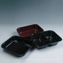 Plastic Divided Bento Container Wholesale (XD-C263)