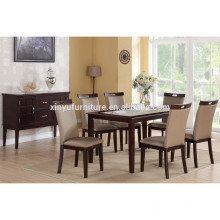 Simple design wooden table and chair set XYN1481
