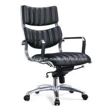 Mobiliário de escritório de estilo americano Metal Leather Staff Chair (B125)