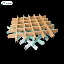 Système de plafond à cellules ouvertes en aluminium