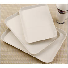 (BC-TM1012) Hot-Sell High Quality Reusable Melamine Serving Tray