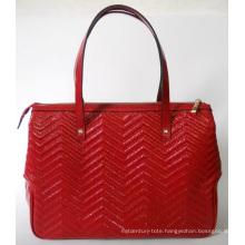 Guangzhou Supplier Designer Embossed Leather Women Handbag (185)