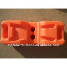 High quality temporary fence plastic feet