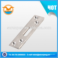 Extrusion Stainless Steel Door Lock Plate Part