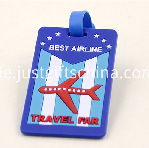Promotional PVC Printing Luggage Tags 2
