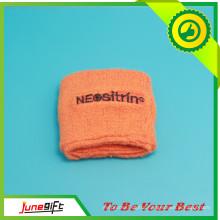 Wholesale Newest Fashion Customized Logo Sport Woven Sweat Wristbands From China