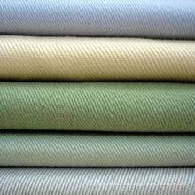 Algodón gris y tela de teñido liso o tela cruzada para traje de trabajo