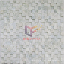 Unsmooth Natural Marble Mosaic Tile (CFS878)