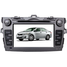 "Car GPS Tracker with 8"" Bt/GPS/DVD/CD/MP3/MP4/Radio Multimedia Monitor in Yessun for Toyota Ccorolla (TS7892)"