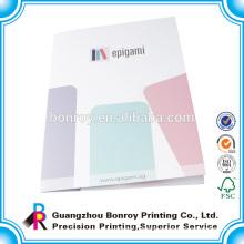 Alibaba china custom printed travel paper document folder