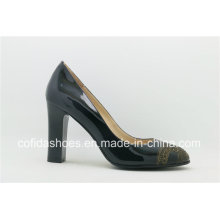 New Fashion Lady High Heel Shoes with Exquisite Totems