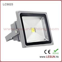 IP65 Silver 50W Luz de inundación LED para iluminación de túnel (LC9025)