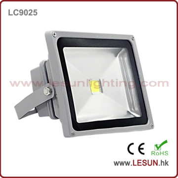 IP65 Silver 50W Flood Light LED for Tunnel Lighting (LC9025)