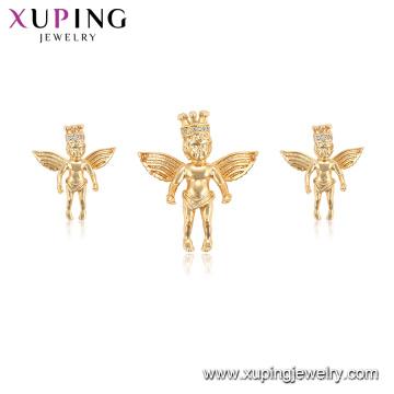 65008 xuping новый угол крыла мода имитация ювелирных изделий серьги кулон набор
