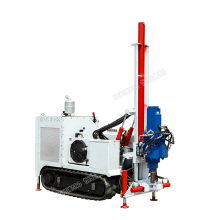 Underground core drilling rig for narrow spaces hydraulic crawler core sample drilling rigs