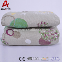 100% polyester stock wholesale comforter sets for sale