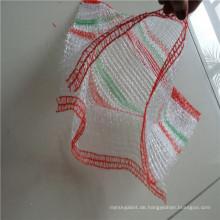 Raschel Taschen in Rollen für automatische Maschinen zum Verpacken von Gemüse Größe 46x65cm