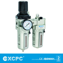 Air Source Treatment-XMAC series Filter&Regulator Lubricator-FRL-Air Filter Combination-Air Preparation Units