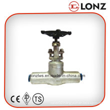 ANSI Stainless Steel Butt Weld Forged Steel Gate Valve
