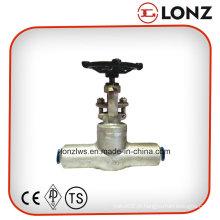 ANSI aço inoxidável Butt solda forjado aço válvula de portão